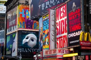 Broadway muse