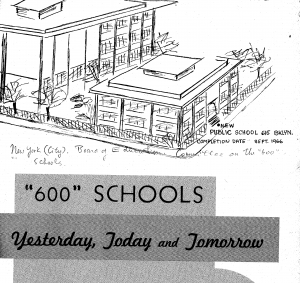 """History of Disability and the """"600″ Schools in New York City"""
