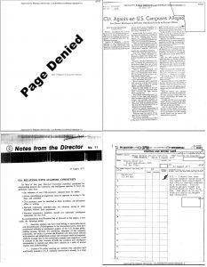 CIA declassified documents